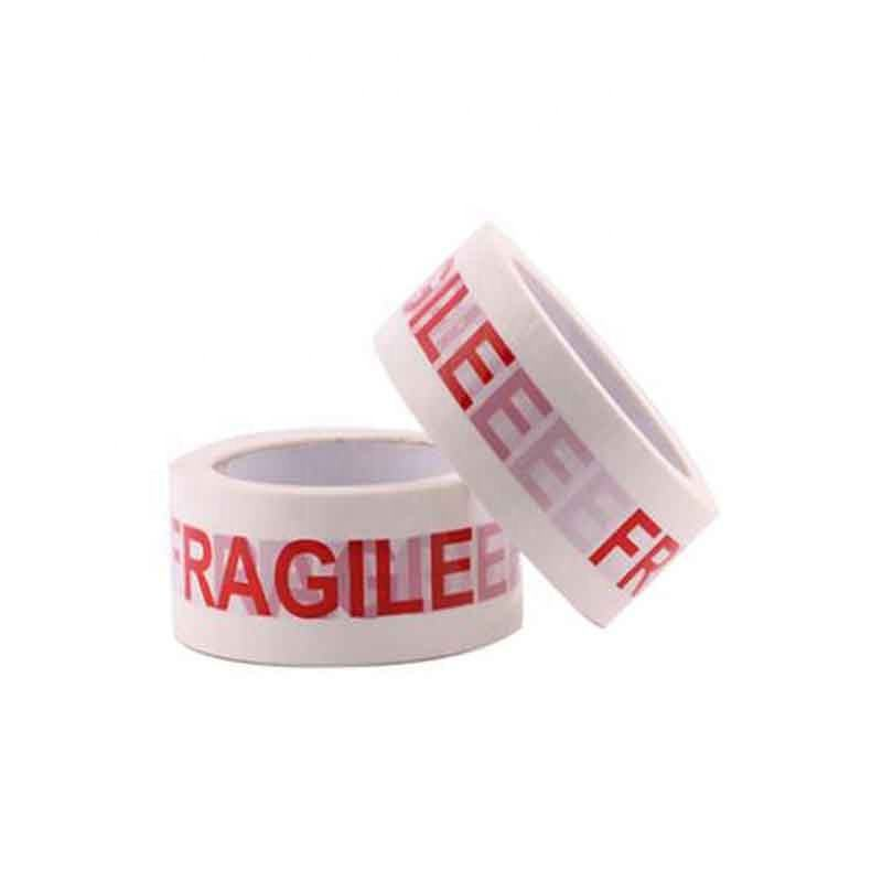 Strong Packing Products Custom Bopp Fragile Tape For Packing And Warning