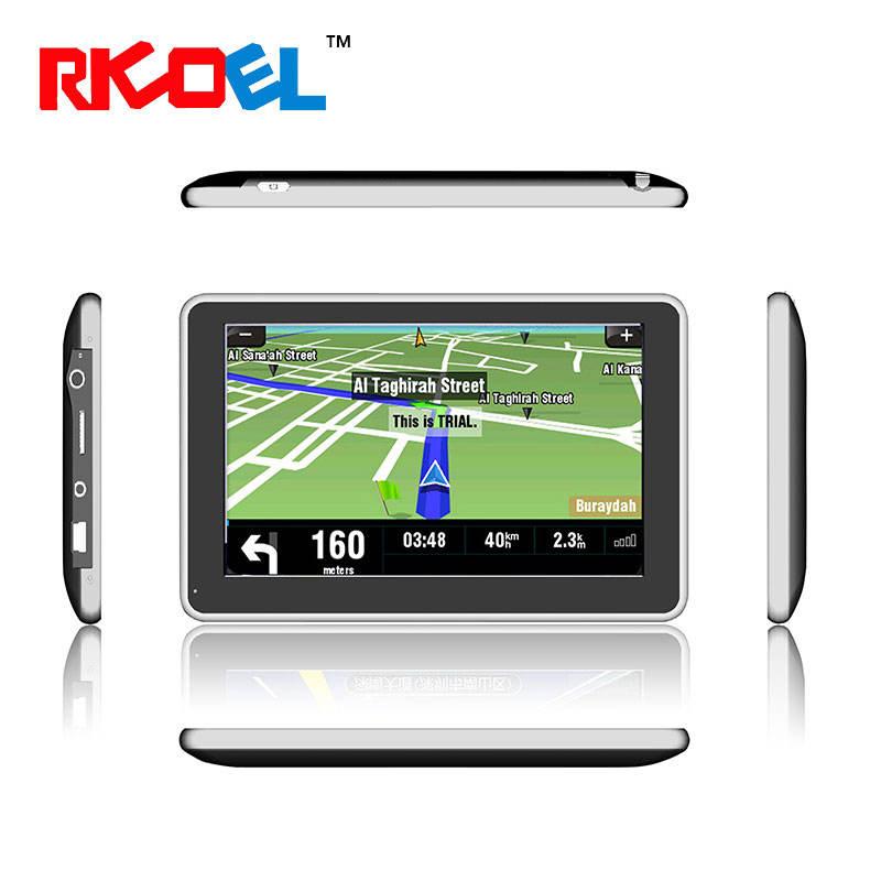 Venta caliente 5 pulgadas TFT pantalla táctil La mejor GPS para Android