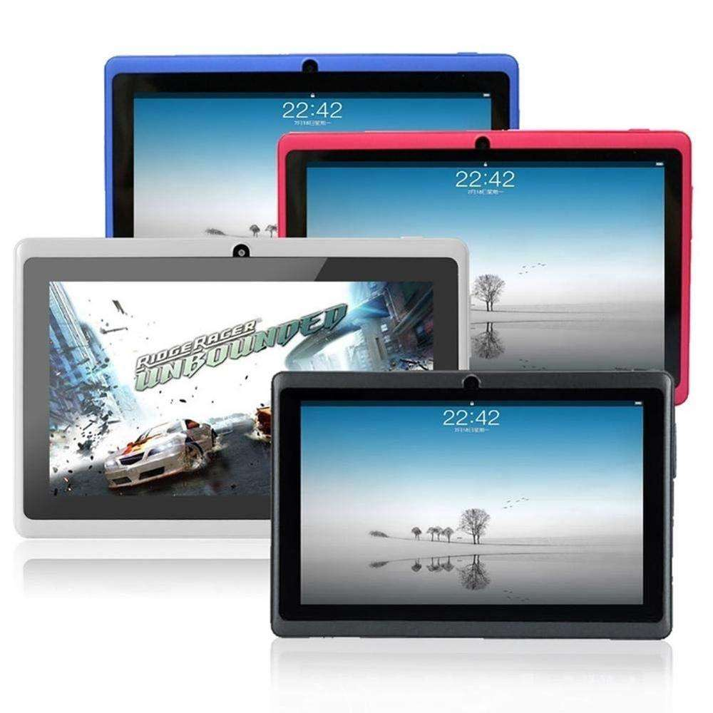 "2020 Cheap New 7"" Tablet PC Quad Core Google Android 4.4 8GB WiFi 512M + 4GB Touchscreen Dual Cameras HD Tablet"