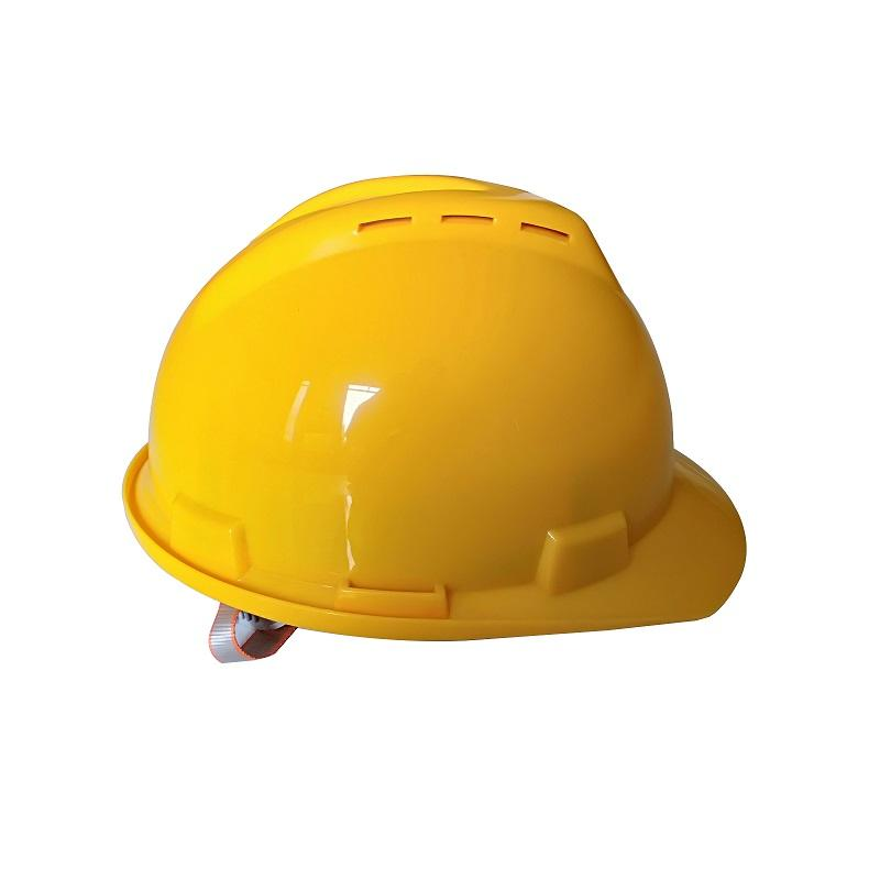 red color construction hard hat cascos de seguridad personalizado