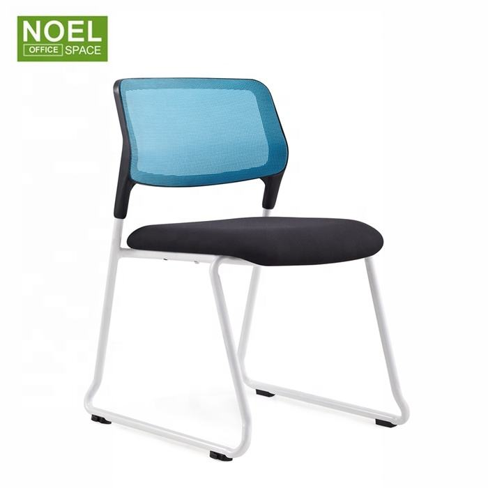 Factory direct selling stackable plastic training chair