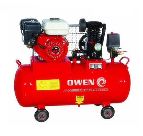 5.5HP portable petrol engine gasoline air compressor 50L
