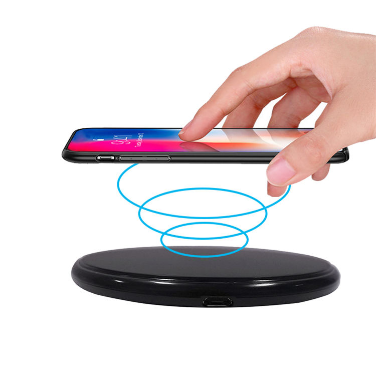 Hot sale electromagnetic induction charging wireless phone charger