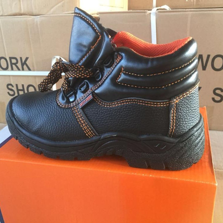 Promotional High Ankle Safety Shoes with Steel Toe Cap