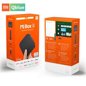 Новое поколение Xiaomi Mi Smart TV Box S 4K Google Quad Core Android 8,1 телеприставка