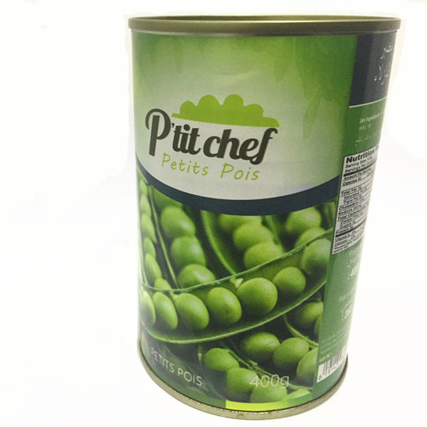 2018 hot sale canned green peas price