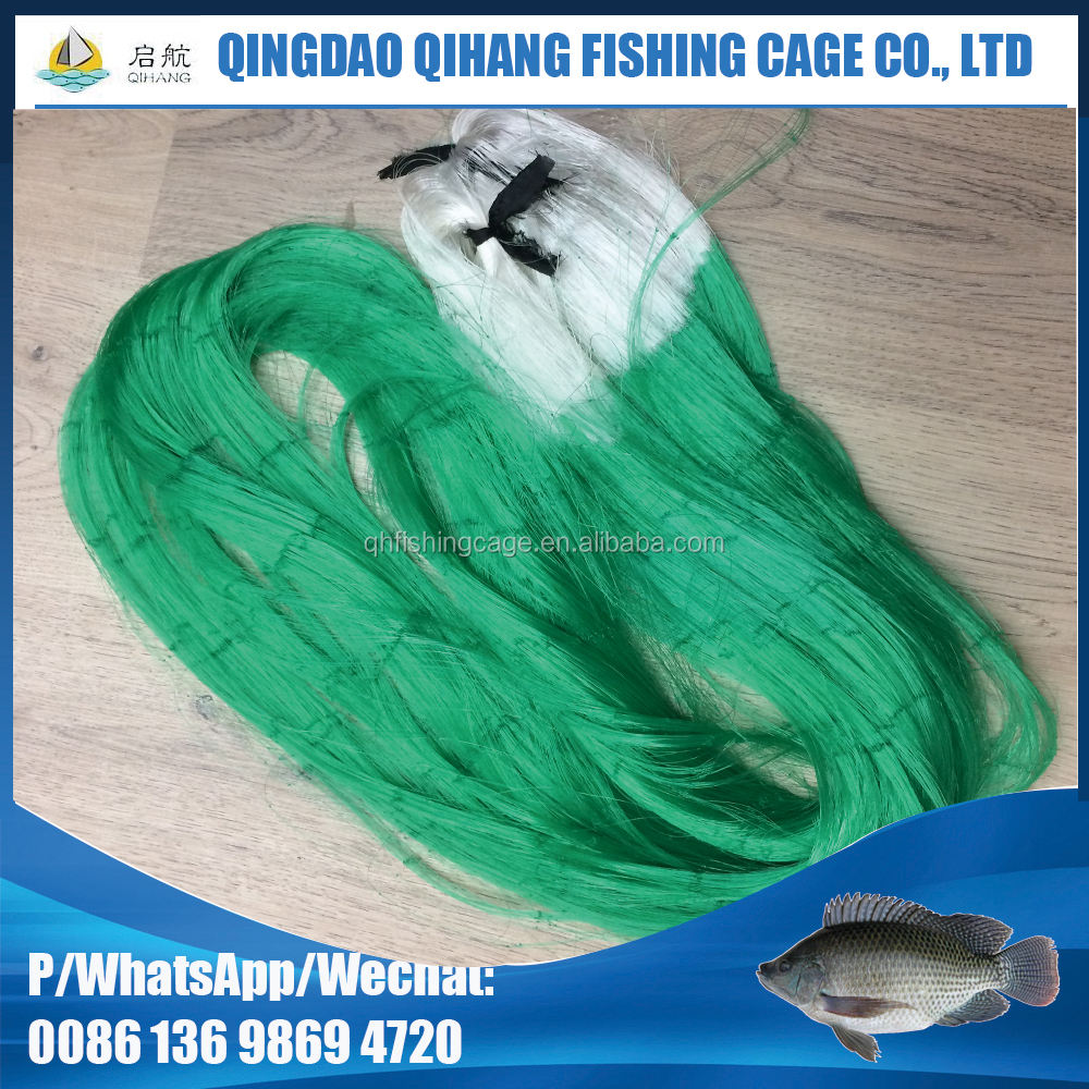 Qihang 0.35 mm monofilament fishing net thailand fishing net fishing red de pesca