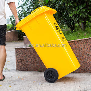 100 120 240 litre Mobile waste containers for medical waste