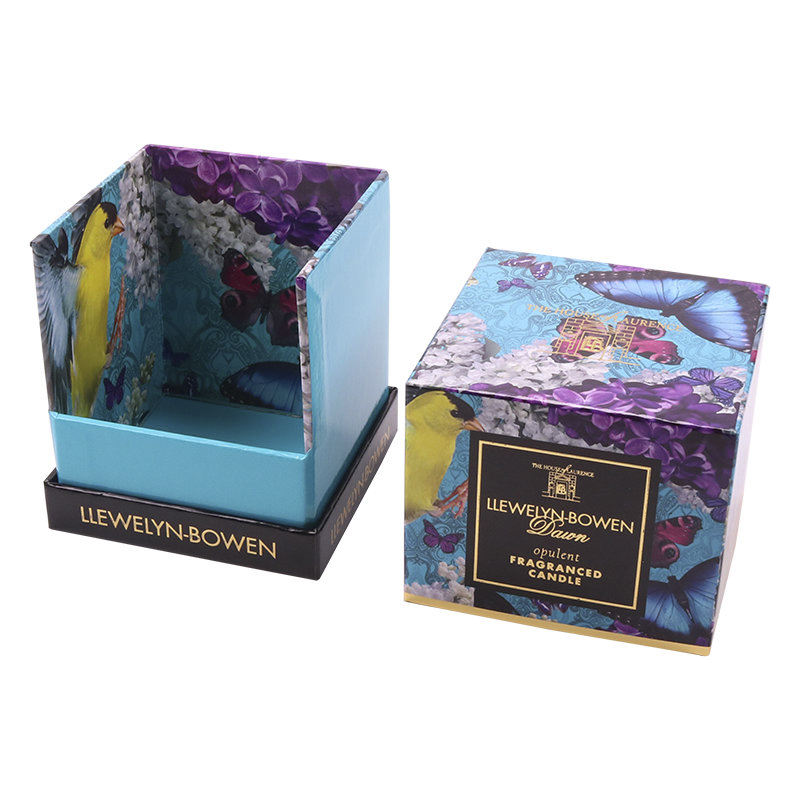 Custom Rigid Luxury Paper Perfume Bottle Gift Candle Packaging Box