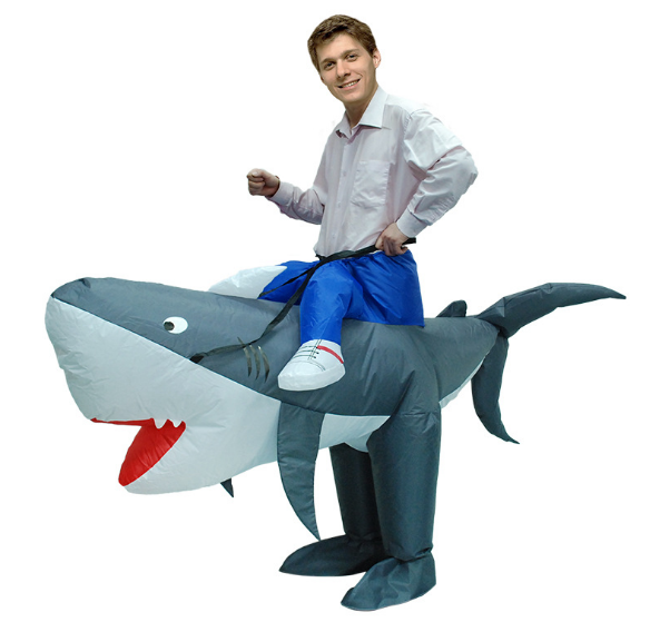 Advertising Inflatable Shark Costume Adult Party Costume