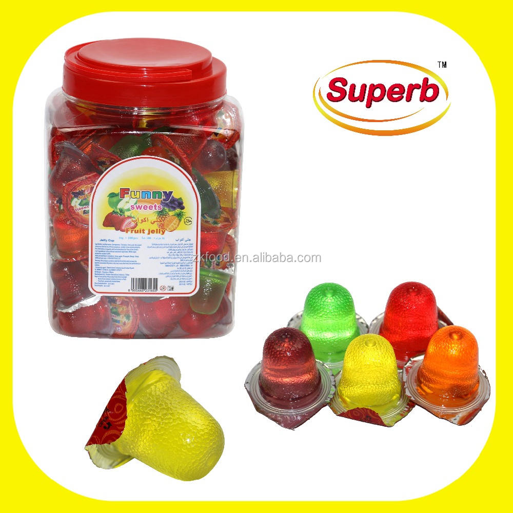 Lychee fruit snacks mini cup jelly with coconut inside