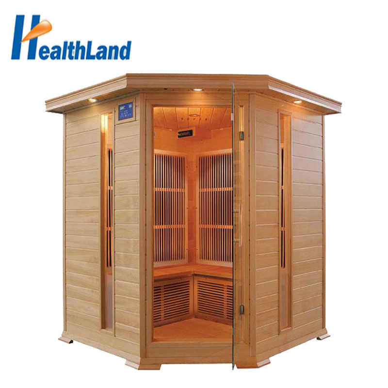 Far Infrared Personal Relax Hemlock Wood Dry Steam SPA Sauna Room