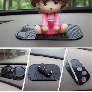 cheaper price Car Spider anti-skid pad OPP loading Car phone mobile phone mat Car accessories factory wholesale
