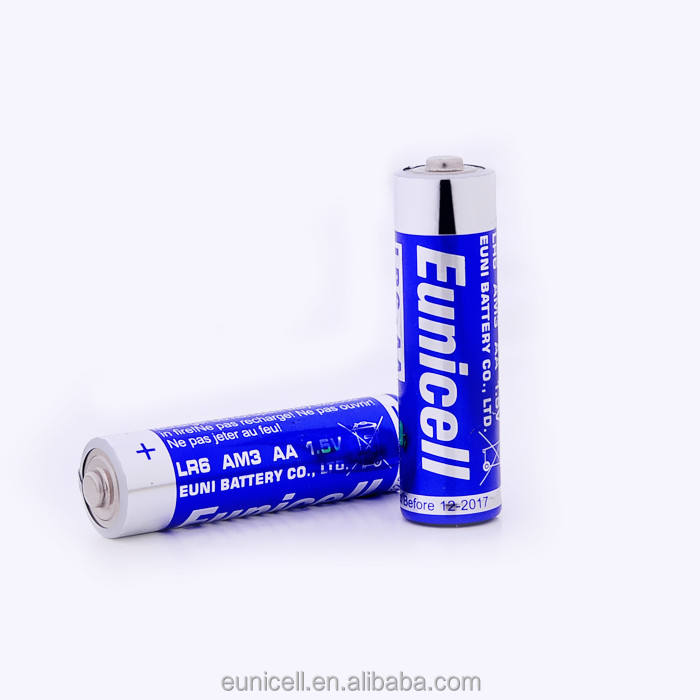 wholesale 0% hg cd alkaline dry battery 1.5V AA LR6