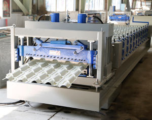 glazed roof tile forming machine Used Metal Roof Tile Machine Glazed Tile Roll Forming Machine