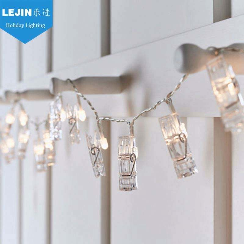 Home Decor Foto Clips String Lights Warm Wit Led String Licht Led String Fairy Lights Led