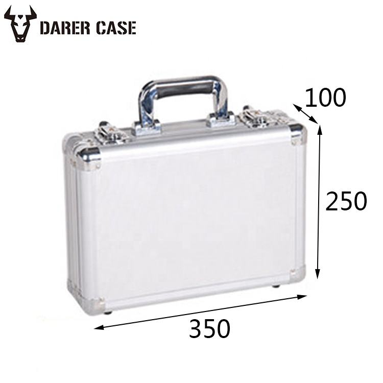DPE003 350*250*100mm Hard Aluminum carrying tool case