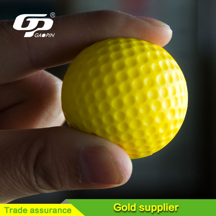 PU Foam Golf Ball , PU Soft Golf Ball Stress Ball