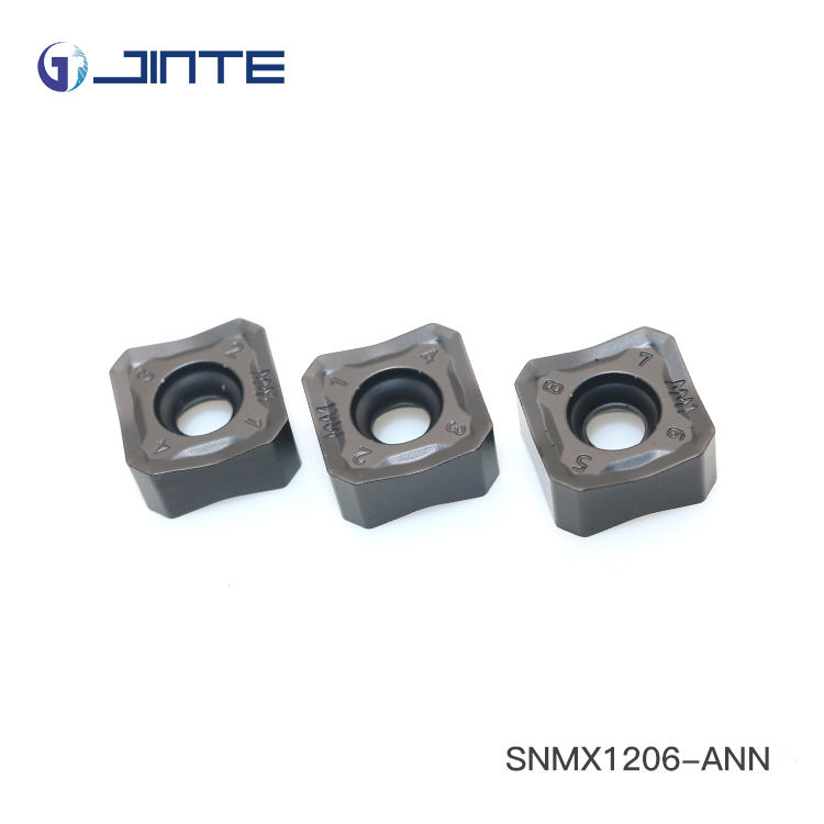 zhuzhou JInte carbide high feed rate milling machine insert SNMX1206-ANN