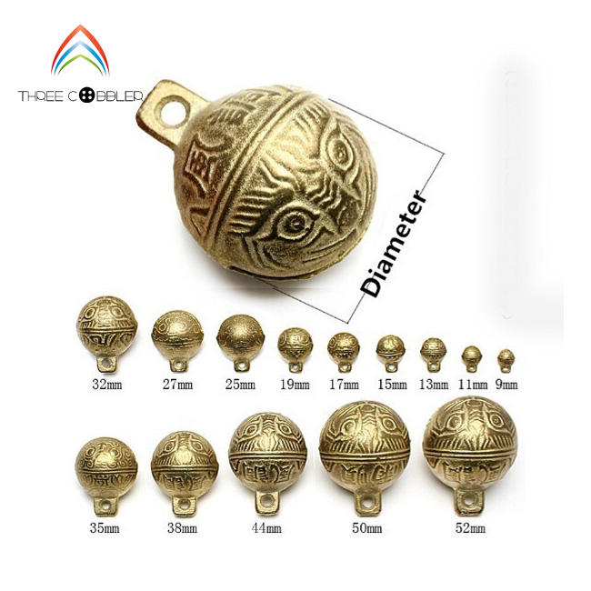BB001 Factory Wholesale Different Size brass Chinese antique church Bells