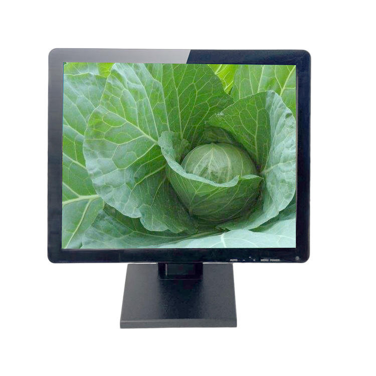 China factory ftt lcd panel 10/12/15/17/18.5/19 inch resistve or capacitive touch screen monitor