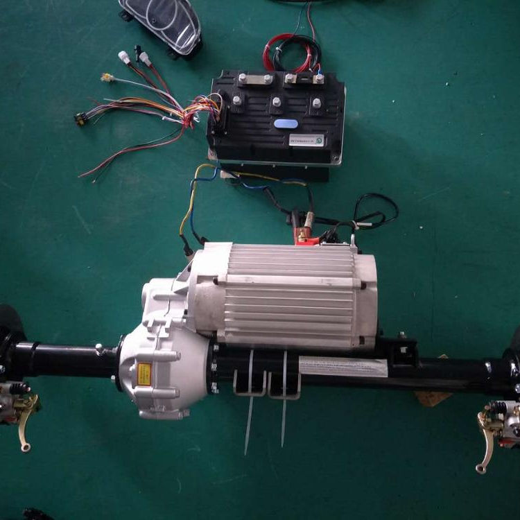 small electric car motor kit with intelligent controller