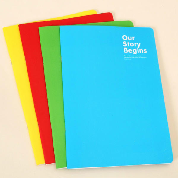 Bulk composition cheap price A4 notebook