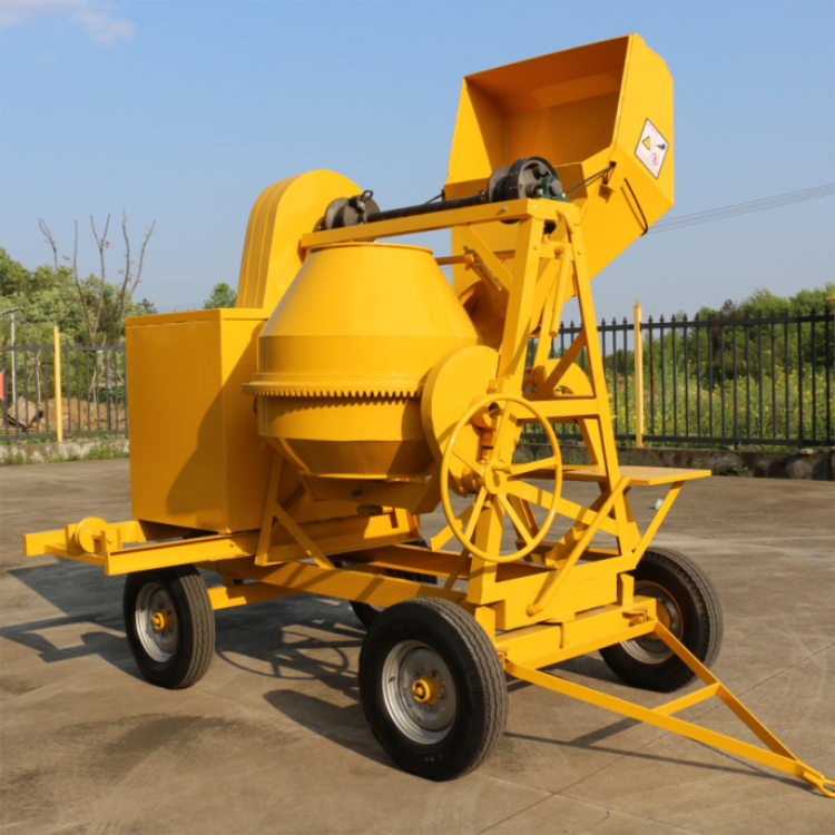 Factory price concrete mixer machine self loading concrete mixer