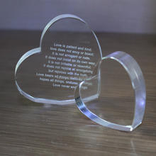 Crystal Heart Anniversary wedding Gift MH-F0512