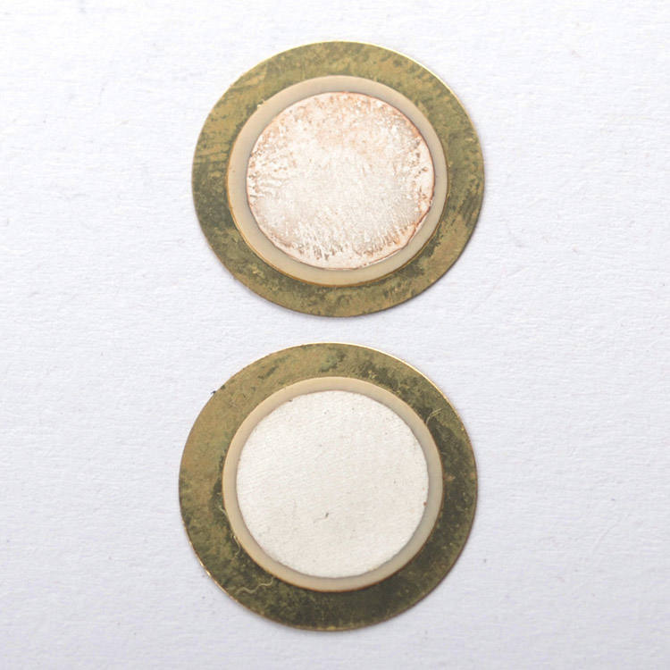 diameter 12mm brass Material or with wire piezo buzzer for thermometer