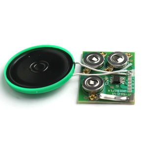 Free sample programmable sliding doors sound module for gift box and greeting card