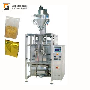 JT-460F washing powder packaging machine 4 edges sealing side bag
