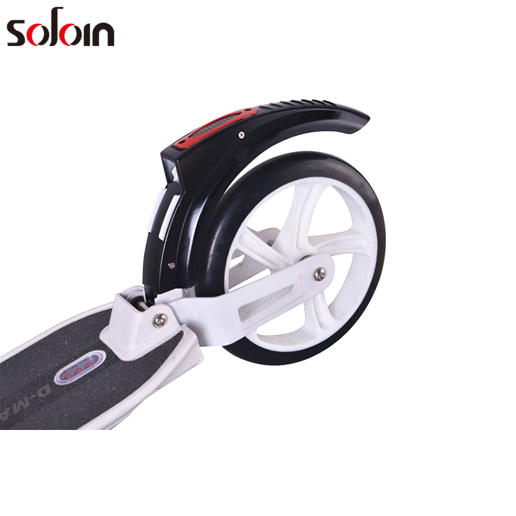 Scooter Mini Branco/Preto E-Scooter Kick Scooter Elétrico Para Adulto