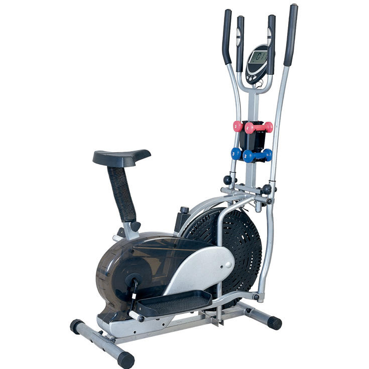 GS-8.2FDG Hot Sales orbiter elliptical orbitrac fitness bike with dumbbell
