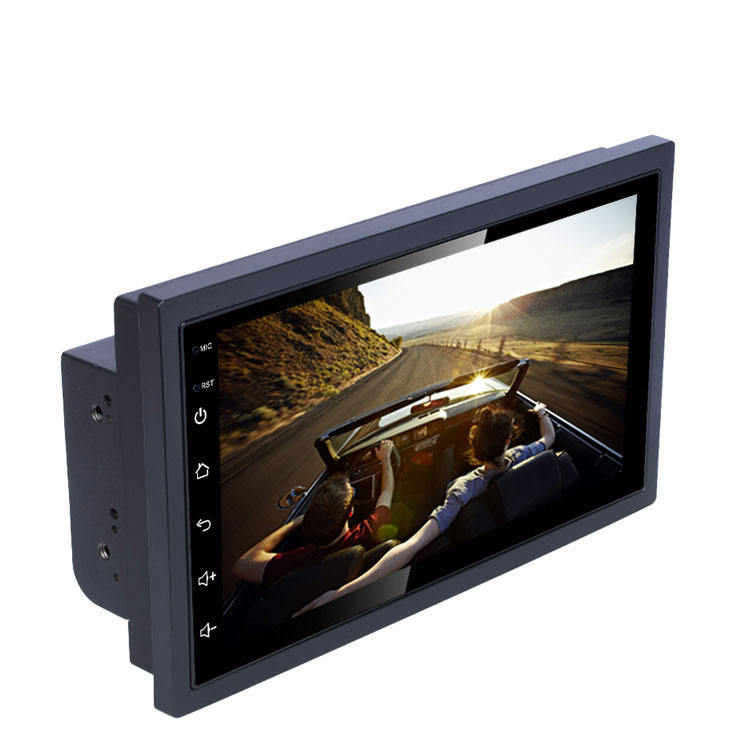 Vehicle Universal Auto Radio Quad Core GPS 7 Inch 2 Din Stereo Android Car player