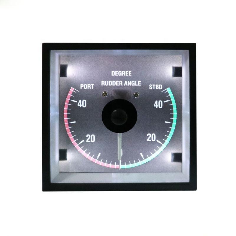 52mm 2 inch Rudder Angle Degree Meter Gauge with Mating Sensor,1Set for Boat