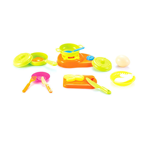Cute kitchenware toys tableware kitchen play set