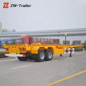 Low Price 20ft or 40ft Container Side Lifter Semi Trailer