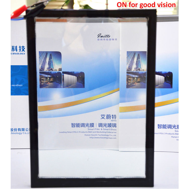 Anti-UV and Soundproof PDLC Film Switchable Glass Wholesale