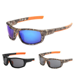 Most Popular Sports Polarizer Color Film Sunglasses Camouflage Glasses Manufacturers Direct Sale