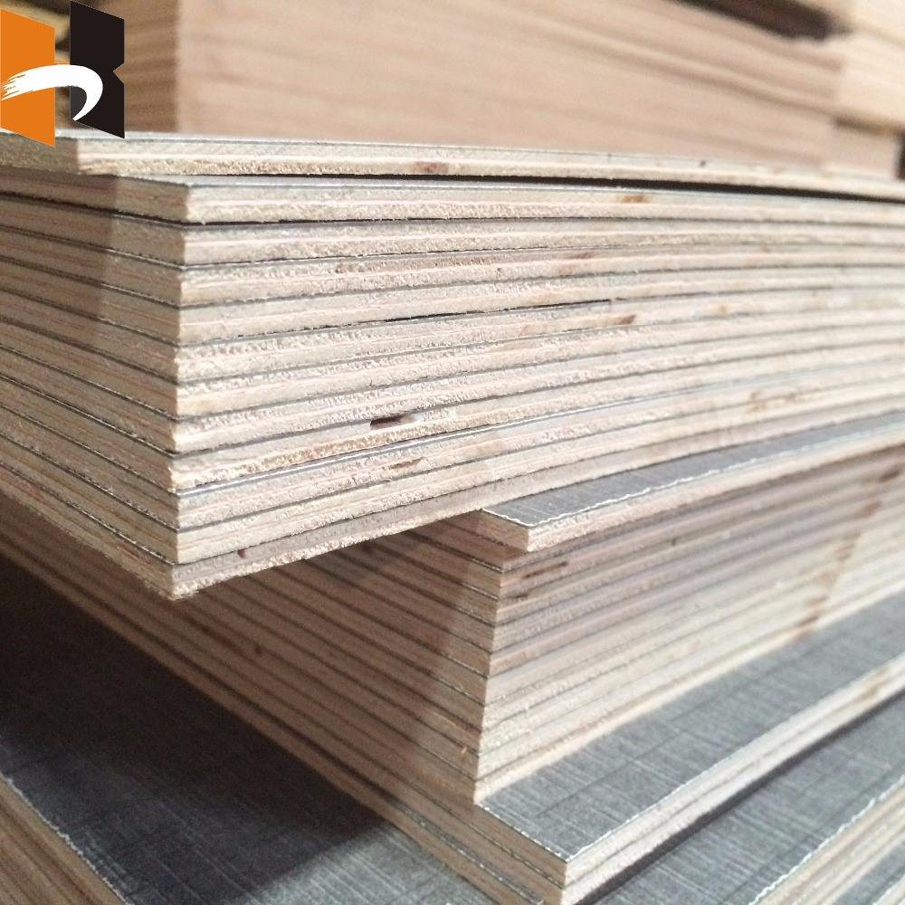 Thin board 5mm HPL Plywood textured hpl laminate plywood