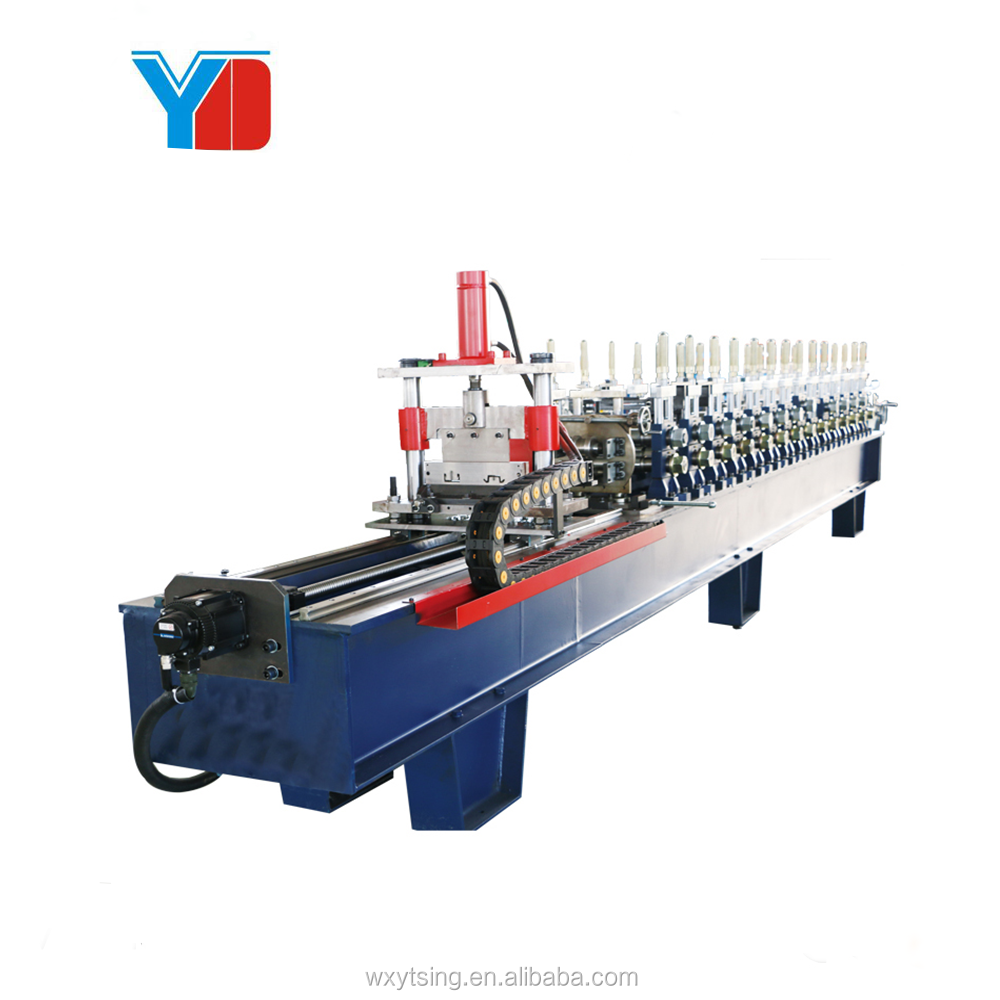 YD-ST-2019 Hot Jual Mini Tua Purlin Roll Forming Machine Berkualitas Baik