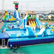 Fun water Park ,inflatable slide playground equipment for sale, good prices bounce inflatable slide trampoline