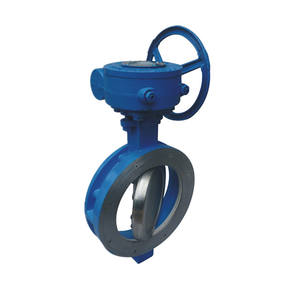 ANSI Double Eccentric pneumatic actuated butterfly valve