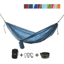 Wholesale Customized OEM Foreign Parachute Cloth Hammock Swing Double Outdoor Camping Supplies