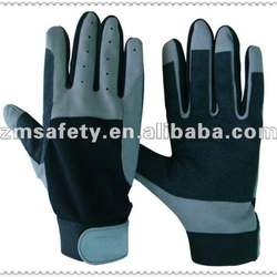 Classic synthetic leather sailing gloves for sun protectionJRM103
