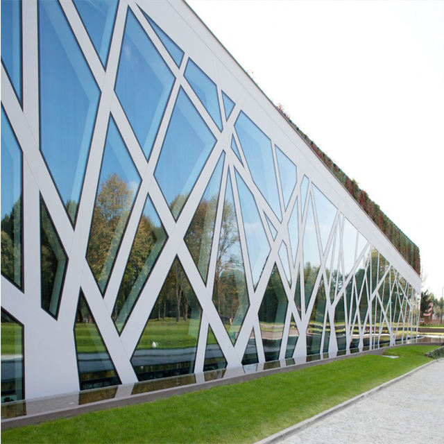 Glass Wall 1 Stop Solution Service Good Price Factory Directly Glass Curtain Wall For Villa