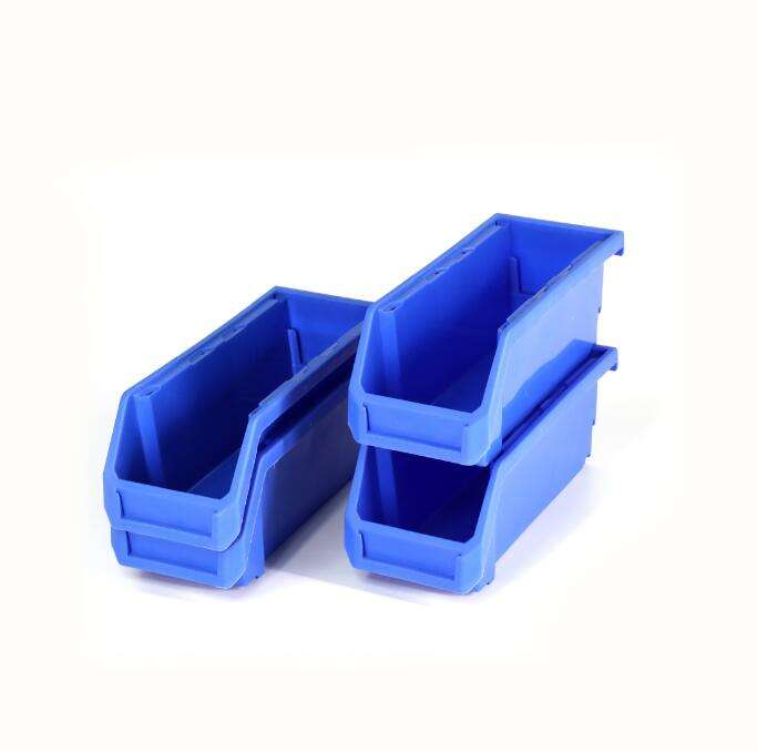 Cheap large plastic bin for spare parts and tools storage