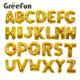 Custom Different Styles Festival Foil Balloons Alphabet Letters Party Decoration Air Balloon For Wholesale