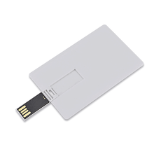 Business Card USB 2.0 Full Color Printing Popular Gift Advertising 8GB Plastic Pendrive 16GB Credit Card USB Flash Drive